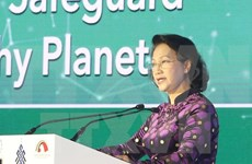 NA leader calls for united efforts to build green world