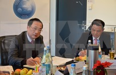 Vietnamese ministry, Swiss institute boost links in security management