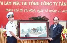 PM asks Saigon New Port to fulfill economic, defence tasks