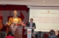 Vietnamese scientists in France contribute to homeland