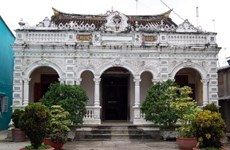 The most famous ancient house in Mekong Delta