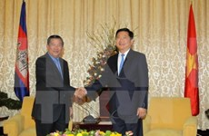 PM Hun Sen thanks HCM City for supporting Cambodian localities