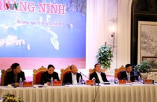 Prime Minister directs development measures for Quang Ninh