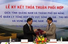 Vu Gia-Thu Bon river deal signed