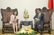 Deputy PM receives Japanese LDP official