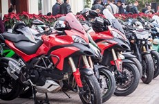 High-engine motorbikes stir domestic market