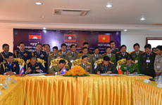 Vietnam, Laos, Cambodia localities work on border security