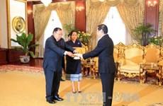 Vietnamese Ambassador to Laos presents credentials