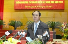 President attends procuracy sector's year-end meeting
