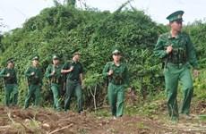 Vietnam, Cambodia border guards hold friendly exchange