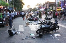 Nearly 80 killed by traffic accidents during New Year holiday