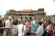 Thua Thien Hue welcomes first foreign visitors of 2017
