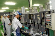 Ha Nam target 56.5 trillion VND in 2017 industrial production