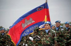 Cambodia sends troops to Lebanon for peacekeeping mission