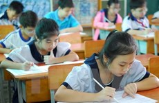 Int'l Kangaroo Math Contest launched in Vietnam