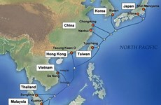 Submarine internet link completed