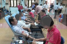 Sunday blood donation programme launched