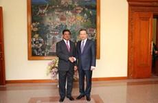 Vietnam, Cambodia exchange information to deter crime