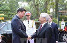 Chinese press highlights Vietnamese Party chief's visit