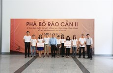 Students win first prize in Breaking Down Barriers contest
