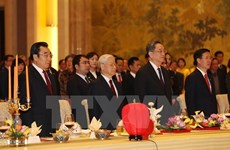 Party General Secretary attends friendly meeting in Beijing