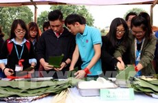 Foreign students in Vietnam gather for Tet celebration event