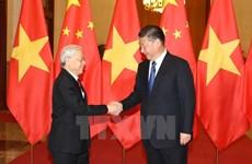 Leaders exchange messages on Vietnam-China ties anniversary