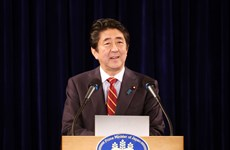 Coverage of Abe's visit to Vietnam in Japanese media