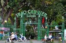 New museum, garden opens at Saigon Zoo