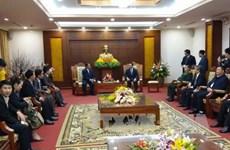 Vietnam, Lao localities foster cooperation