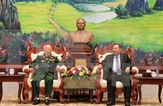 Lao leaders hail contributions of Vietnamese voluntary soldiers