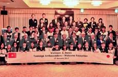 Vietnam - Japan teenager ambassador exchange opens in Japan