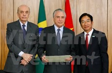Brazil looks to boost cooperation with Vietnam