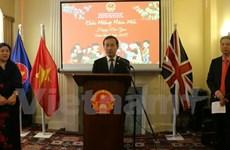 Vietnamese community in UK, Brazil celebrate Tet