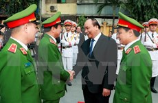 Mobile police told to bolster int'l cooperation to enhance combat capacity