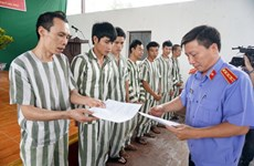 Tay Ninh: Clemency granted to over 600 prisoners