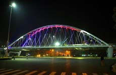 Hai Phong's giant flyover opens to traffic