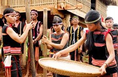 New rice celebration – unique to Jrai people in Central Highlands
