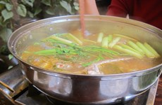 A taste of southern cuisine: keo fish hotpot