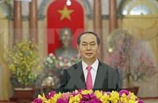 President Tran Dai Quang extends Lunar New Year greetings