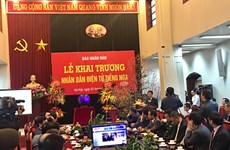 Nhan Dan newspaper launches online Russian version