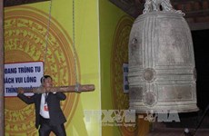 Pair of ancient bells in Cao Bang recognised as national treasures