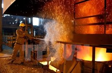 Hoa Phat Dung Quat steel complex licensed in Quang Ngai