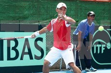 Vietnam lose to Hong Kong in first round of Davis Cup