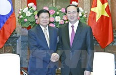 President hails outcomes of Vietnam-Laos Inter-Gov't Committee meeting