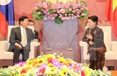 Top legislator pledges to facilitate Vietnam-Laos agreements
