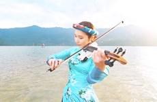 Korean violinist showcases Vietnam on video clip