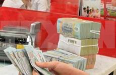 Reference exchange rate goes up 8 VND
