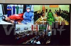 Vietnam supports Cambodian hospital via telemedicine