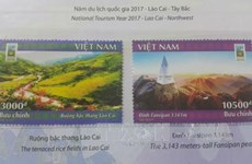 Lao Cai issues stamp collection